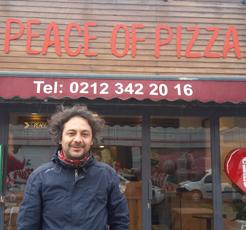 Bir duayen, bir işletme / Barış Gültekin, Peace of Pizza