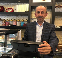 Bir duayen, bir işletme / Bahar Pastanesi, Mehmet Sarıhan