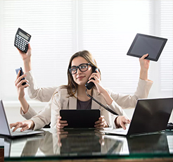 Multitasking, modern zamanın mücadelesi