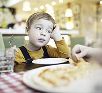 Restoranda Çocuk